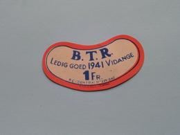 Etiketten / Etiquettes De Collectionneur / Verzamelaar De Regio > MENIN / MENEN > Detail Zie Foto ! - Etiquettes