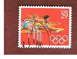 STATI UNITI (U.S.A.) - SG 2599  - 1991 OLYMPIC GAMES: HURDLING    - USED - Used Stamps