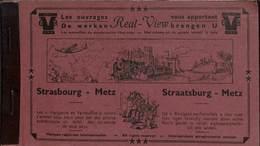 Album 10 Vues Stéréo Real-View Strasbourg Metz - Strasbourg