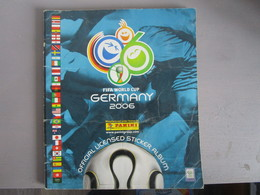 Album Foot Panini Germany 2006 Worl Cup  Incomplet - Panini
