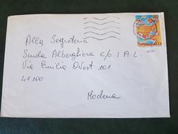 (27761) STORIA POSTALE ITALIA 1990 - 1981-90: Storia Postale