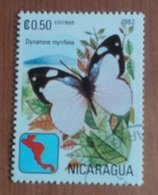 "Papillon ""Dynamine Myrrhina"" (Insecte) - Nicaragua - 1982 - Nigeria (1961-...)"