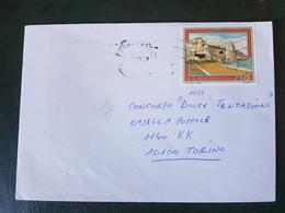 (27762) STORIA POSTALE ITALIA 1990 - 1981-90: Storia Postale