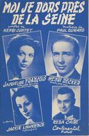 Partition De Henri DECKER Jacqueline FRANCOIS Reda CAIRE - Moi Je Dors Près De La Seine - Musique : PAUL DURAND - Musik & Instrumente