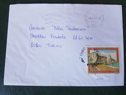 (27763) STORIA POSTALE ITALIA 1990 - 1981-90: Storia Postale