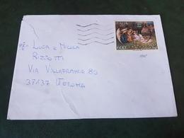 (27766) STORIA POSTALE ITALIA 1990 - 1981-90: Storia Postale