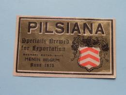 Etiketten / Etiquettes De Collectionneur / Verzamelaar De Regio > MENIN / MENEN > Detail Zie Foto ! - Bière