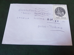 (27769) STORIA POSTALE ITALIA 1990 - 1981-90: Storia Postale