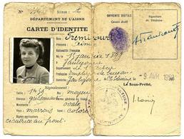Carte D'identité 1952 - Other Collections