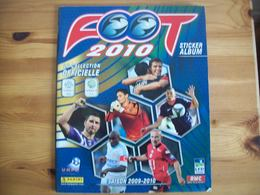 Album  Panini  Foot 2010  Vide Empty - Panini