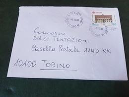 (27774) STORIA POSTALE ITALIA 1990 - 1981-90: Storia Postale