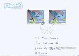 Liechtenstein 2019 Vaduz Banded Demoiselle Damselfly Calopteryx Virgo Insect Cover - Andere
