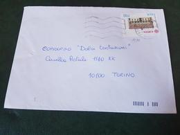 (27775) STORIA POSTALE ITALIA 1990 - 1981-90: Storia Postale