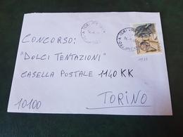 (27777) STORIA POSTALE ITALIA 1990 - 1981-90: Storia Postale