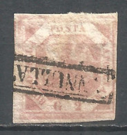 Italy  Naples 1858 Year, Used Stamp , Michel # 3 - Naples