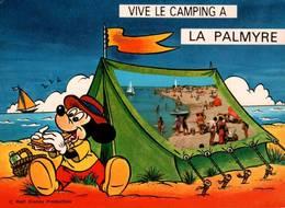 CPM - WALT DISNEY - LA PALMYRE LES MATHES - Vive Le Camping ... - Edition Artaud - Otros