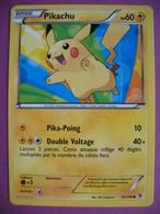 Carte Pokemon - Pikachu - 50/149 - Noir Et Blanc - Frontières Franchies - 2012 - Pokemon