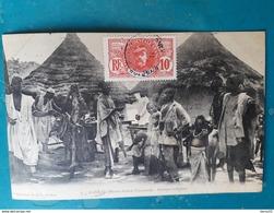 CPA - Haute Guinée Française - KANKAN - Groupe Indigène - Guinée Française