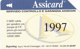 SCHEDA TELEFONICA  ASSICARD  SCADENZA 30/06/1999 USATA - Italy