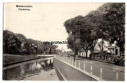 Weltevreden Citadelweg, Batavia, Postkarte - Indonésie