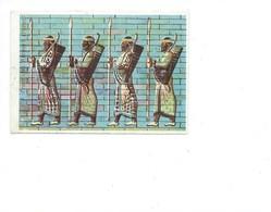 Frise Des Archers Tombeau De Darius PERSE IRAN ASIE Bien 85 X 60 Mm Chromo Papier - Autres