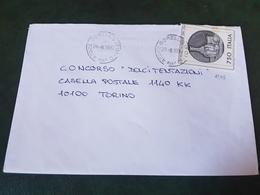(27780) STORIA POSTALE ITALIA 1990 - 1981-90: Storia Postale