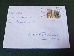 (27781) STORIA POSTALE ITALIA 1990 - 1981-90: Storia Postale