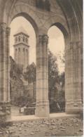 Abbaye N.-D. D'Orval - Portail De L'ancienne Eglise Restaurée En 1931 - Au Fond La Tour De La Nouvelle Abbaye - Florenville