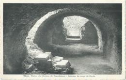 Theux - Ruines Du Château De Franchimont - Intérieur Du Corps De Garde - Edit. Hayet-Faymonville - Theux
