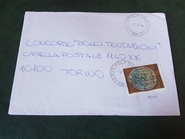 (27786) STORIA POSTALE ITALIA 1990 - 1981-90: Storia Postale