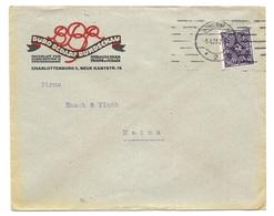 """Charlottenburg - Deutsches Reich - Lettre - """"Büro-Bedarf-Rundschau, Charlottenburg"""", Vers Mainz, Mi. 230; 1923 - Allemagne"""