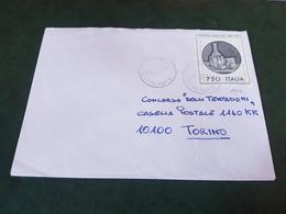 (27790) STORIA POSTALE ITALIA 1990 - 1981-90: Storia Postale