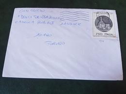 (27791) STORIA POSTALE ITALIA 1990 - 1981-90: Storia Postale