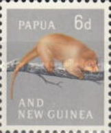 MH STAMPS Papua-New-Guinea - Local Motives And Queen Elizabeth II  -1961 - Papua New Guinea