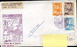 43909 Peru, Fdc Circuled 1994 El Puente De Huaman Poma, - Pérou