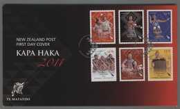 C4537 NEW ZEALAND FDC 2011 KAPA HAKA - FDC