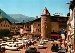 CPM - MEGEVE - Centre De La Station - Voitures CITROËN DS Et Autres - Passenger Cars