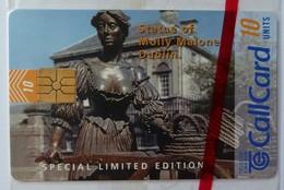 IRELAND - CallCard - Chip - (1163) - 2nd Big CallCard Challange Molly Malone Statue - 10 Units - Special Ed Mint Blister - Irlanda