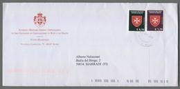 C4539 SMOM Storia Postale 2018 0.70 1.75 - Sovrano Militare Ordine Di Malta