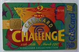 IRELAND - CallCard - Chip - 1164 - 2nd Big CallCard Challange - Charity - 10 Units - Ltd Special Edition -  Mint Blister - Irlande