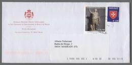 C4540 SMOM Storia Postale 2018 ARTE ROMANA AUGUSTO 0.10 1.90 - Sovrano Militare Ordine Di Malta