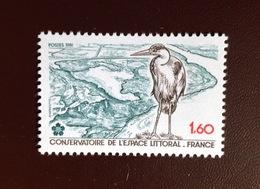 France 1981 Birds Heron MNH - Vögel