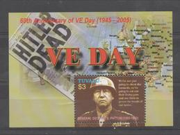VE- DAY : General Patton - Tuvalu