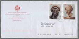 C4544 SMOM Storia Postale 2014 ARTE ETRUSCA E GRECA 1.00 1.40 - Sovrano Militare Ordine Di Malta