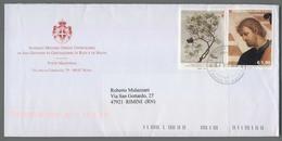 C4545 SMOM Storia Postale 201 RAFFAELLO 1.90 J. LIGOZZI 0.05 - Sovrano Militare Ordine Di Malta