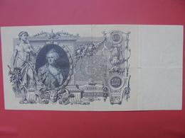 RUSSIE 100 ROUBLES 1910  CIRCULER - Russie