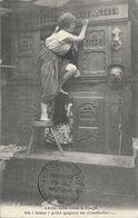Bretagne - Lits-clos à étage - Oh! Hisse! Pour Gagner Sa Couchette!... - Collection E. Hamonic, Carte N° 4658 - Bretagne
