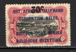 CONGO BELGA - 1922 - OCCUPAZIONE - SENZA GOMMA - 1894-1923 Mols: Nuovi
