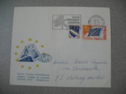 Lettre 1969 Cercle D'Etudes Philatéliques Europa - Session Du Parlement Eu Conseil De L'Europe De Strasbourg Pour Aulnay - Storia Postale
