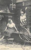 Bretagne - Lits-clos à étage - En Conscience, Marie-Josephe, Tu N'as Pas Honte? - Collection E. Hamonic, Carte N° 4460 - Bretagne